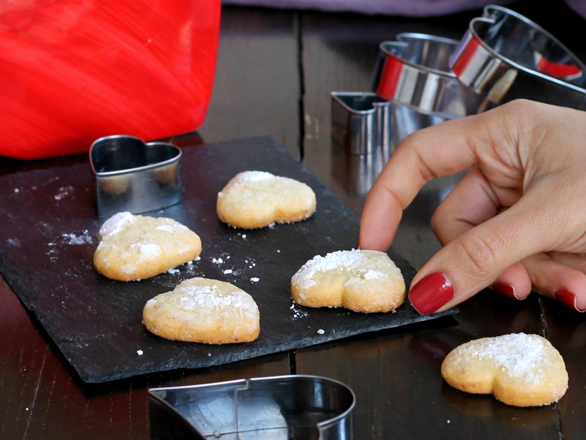 LIMONCINI biscotti friabili frollini al limone   ricetta dolce San Valentino