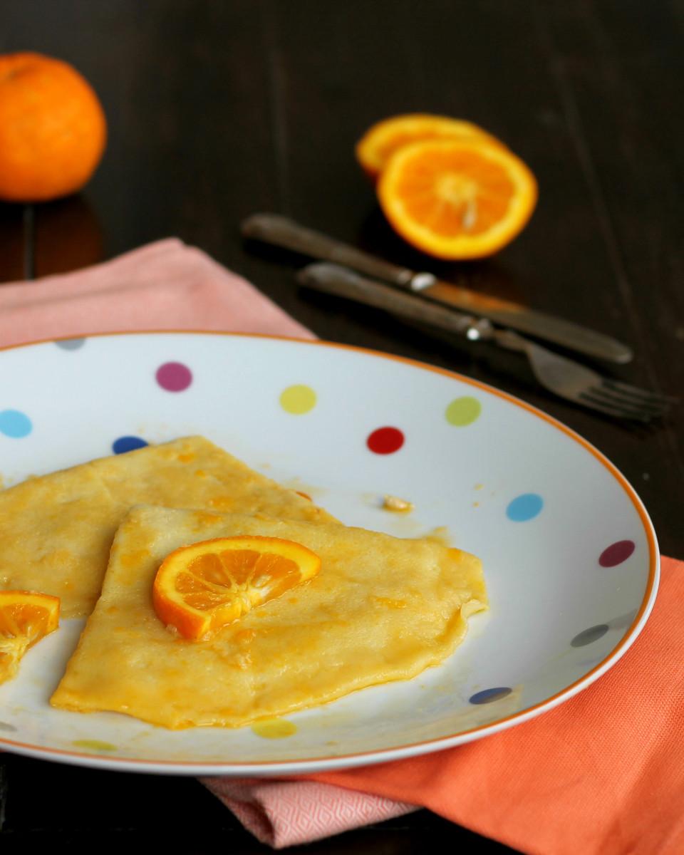 CREPES SUZETTE le famose crepes francesi storia ricetta originale e light