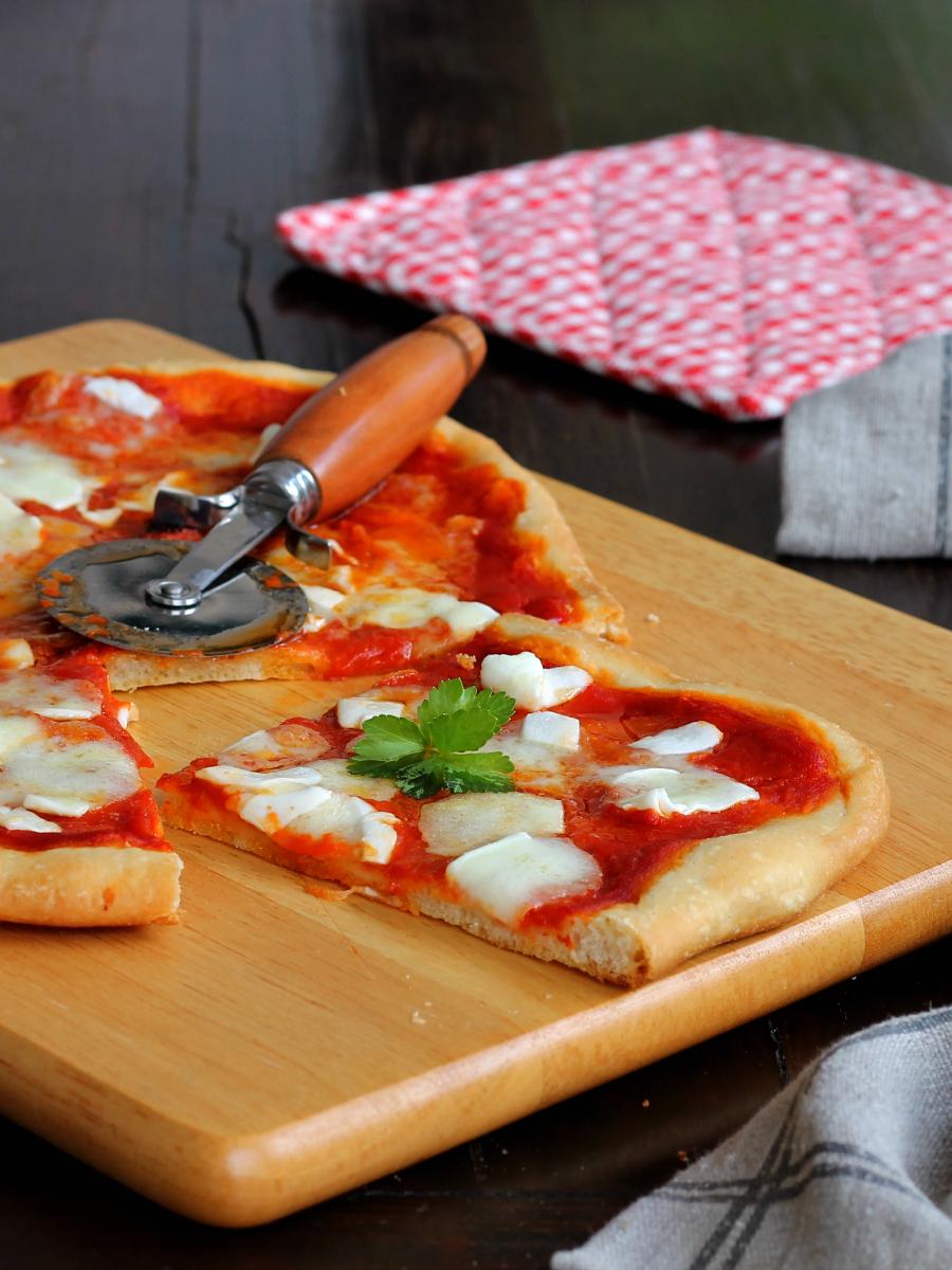 IMPASTO PIZZA CON SEMOLA ricetta per cottura in forno di casa
