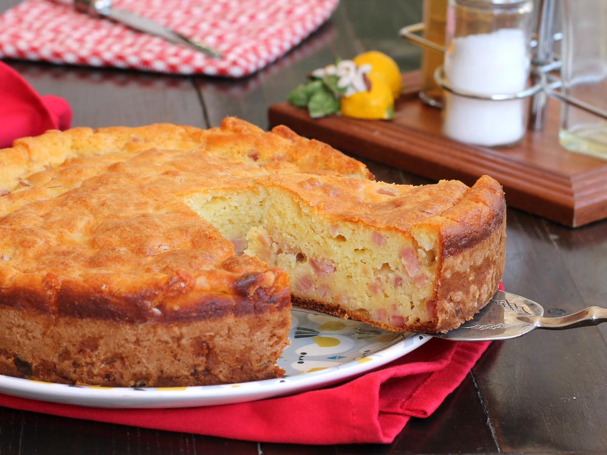 RICETTA TORTA 7 VASETTI SALATA senza bilancia prosciutto formaggio
