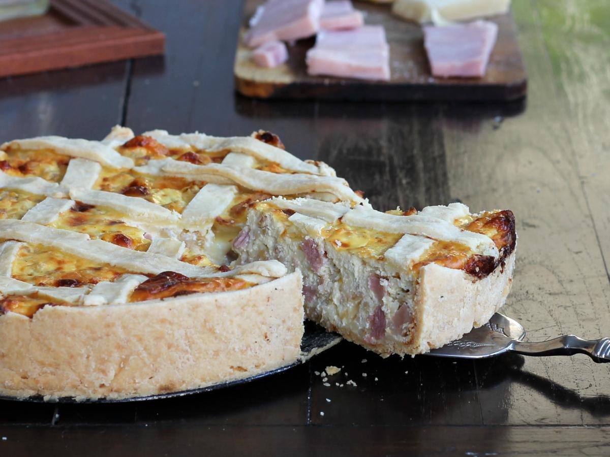 PASTIERA SALATA DI GRANO ricetta crostata di Pasqua facile