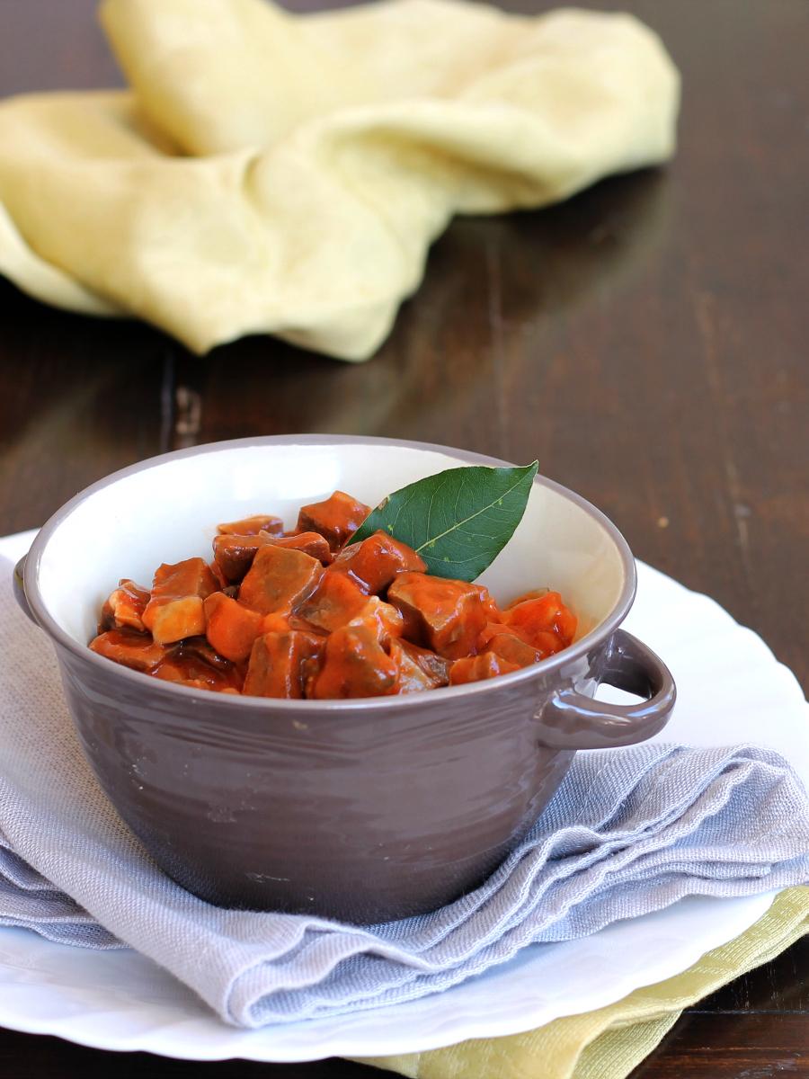 SOFFRITTO NAPOLETANO ricetta zuppa forte di maiale salsa forte