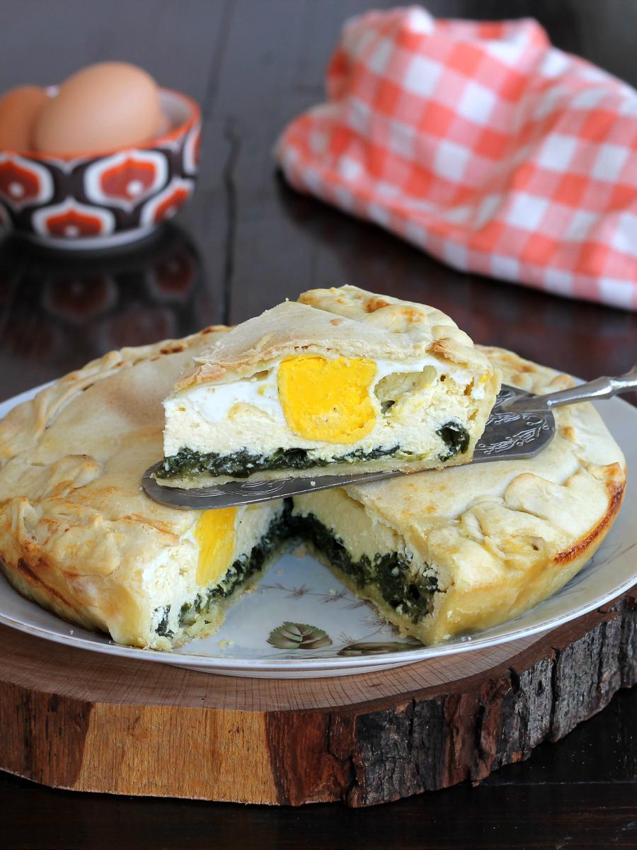 Ricetta torta pasqualina in inglese
