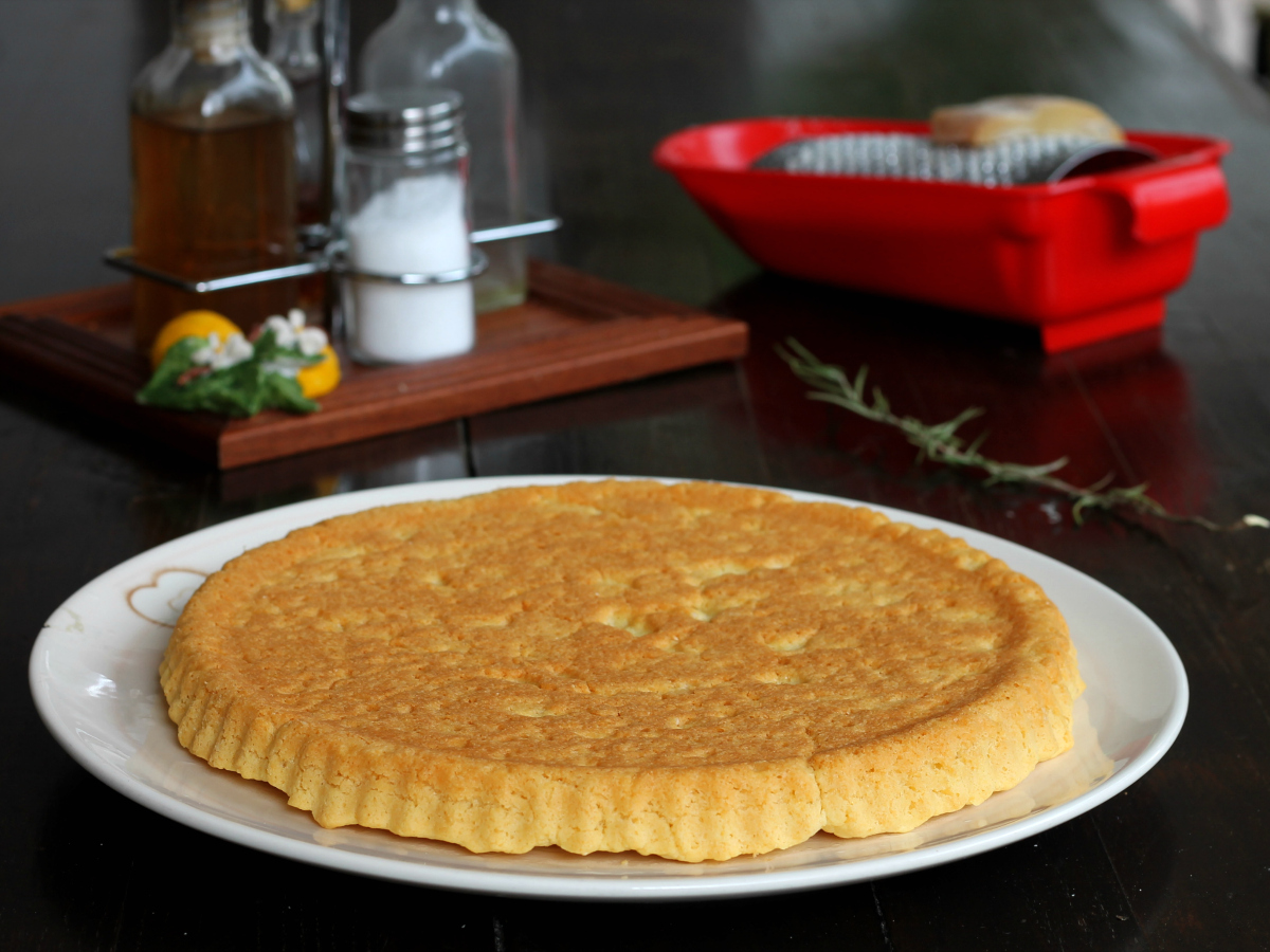 BASE CROSTATA SALATA FURBA ricetta torta morbida veloce
