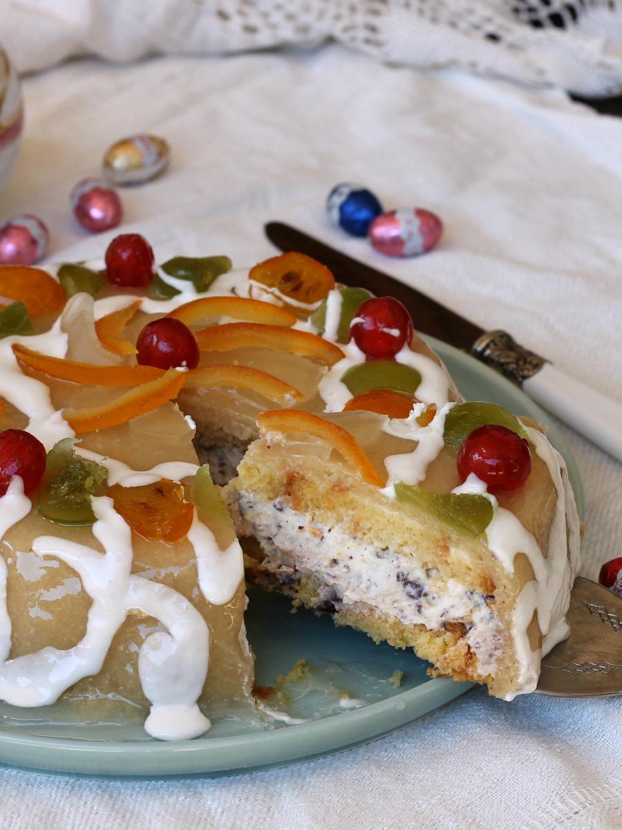 CASSATA SICILIANA RICETTA ORIGINALE dolce tipico siciliano