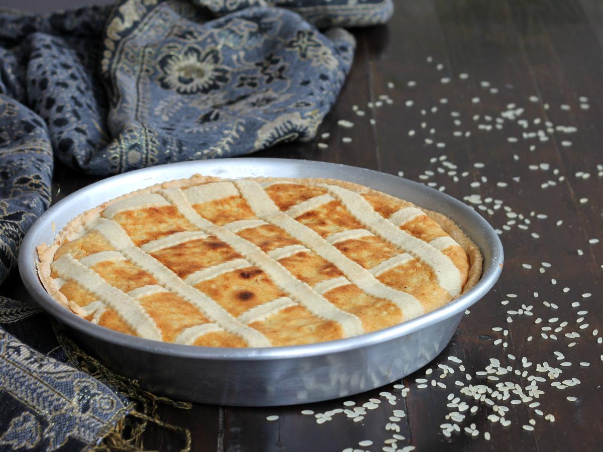 PASTIERA CILENTANA DI RISO ricetta dolce tradizionale di Pasqua