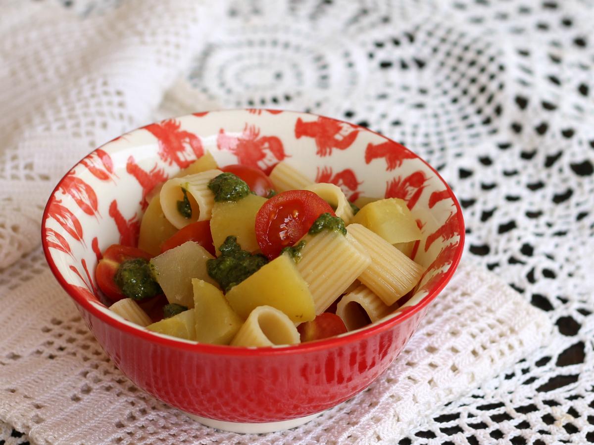 PASTA E PATATE ESTIVA ricetta insalata fredda con patate