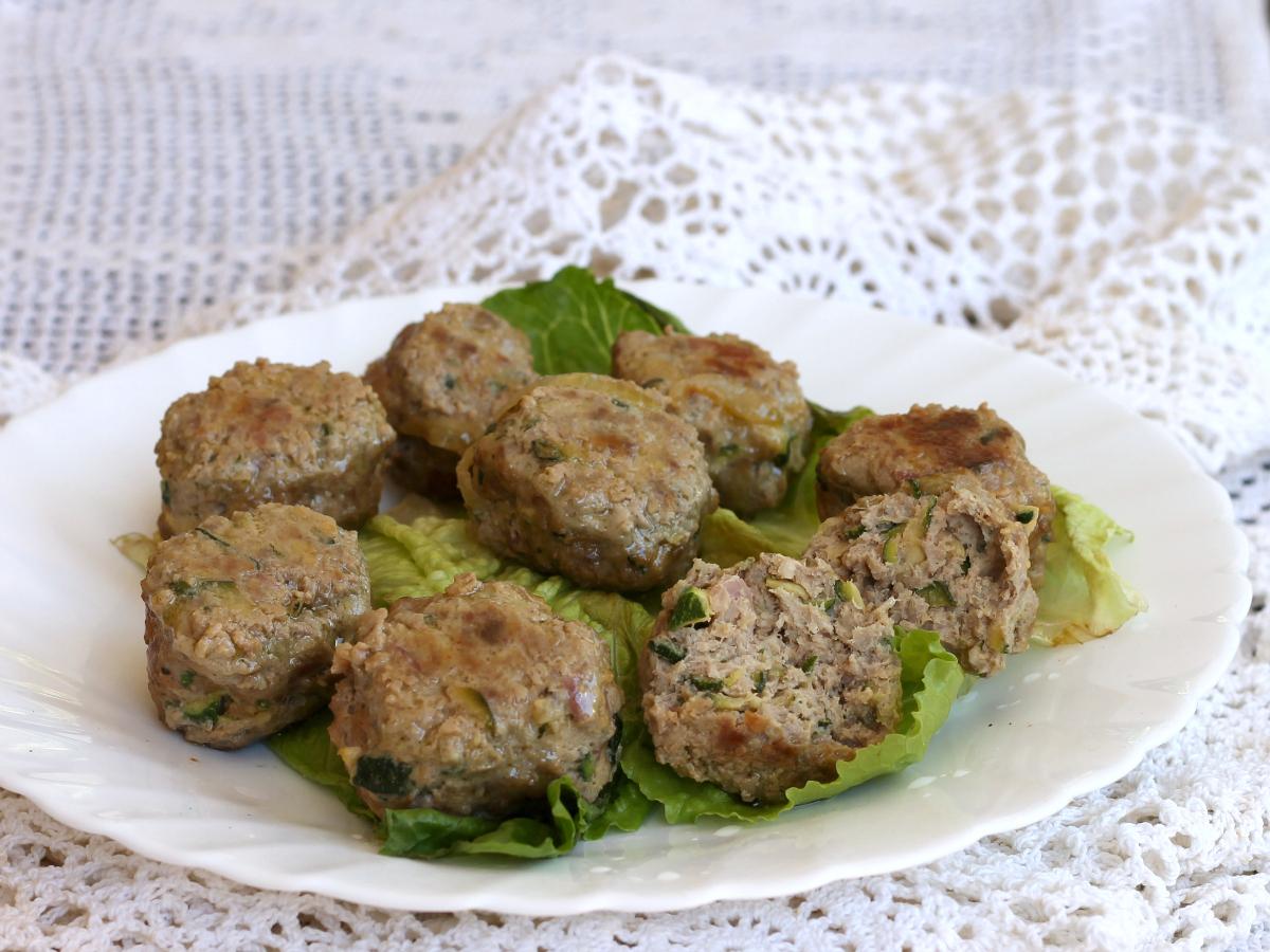 POLPETTE CARNE E ZUCCHINE morbidissime ricetta secondo piatto