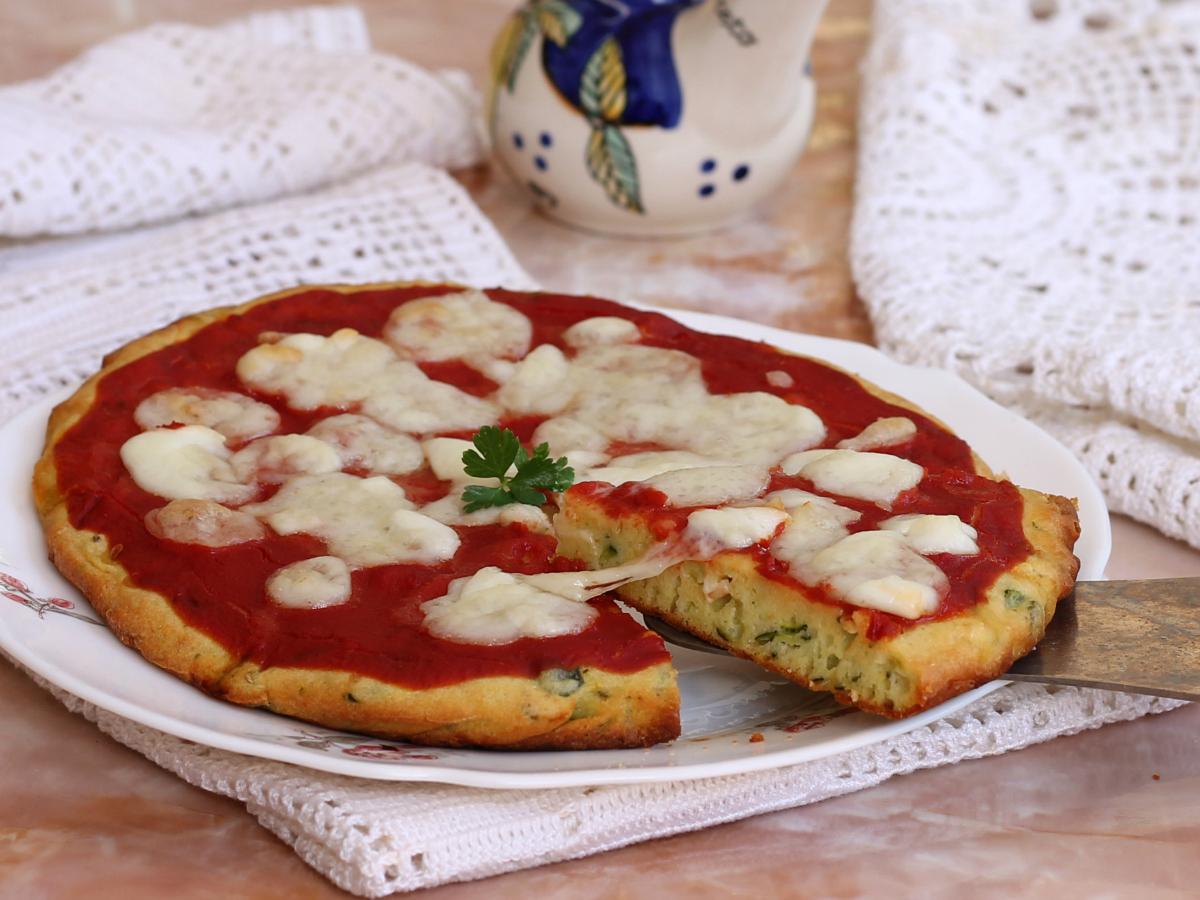 Torta di Zucchine alla Pizza
