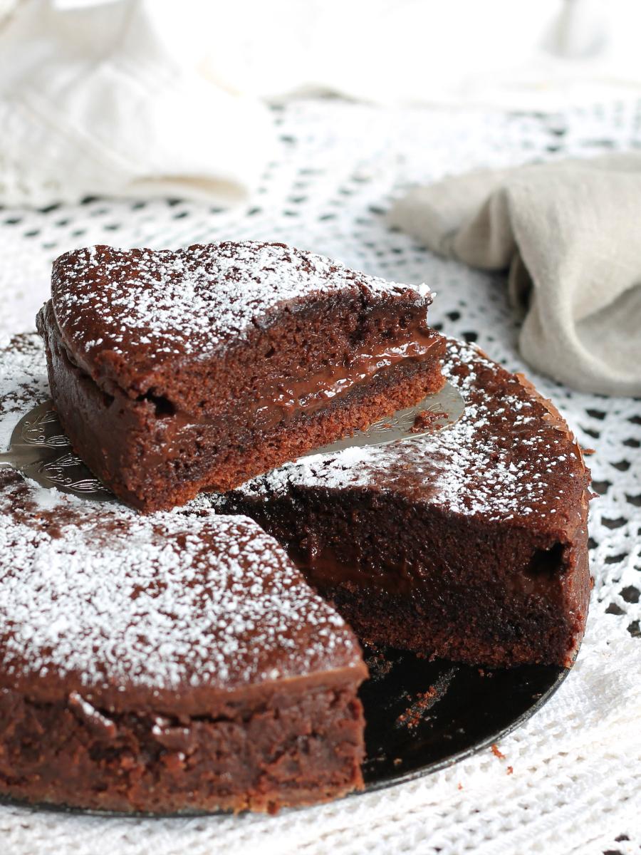 Torta Versata al Cioccolato