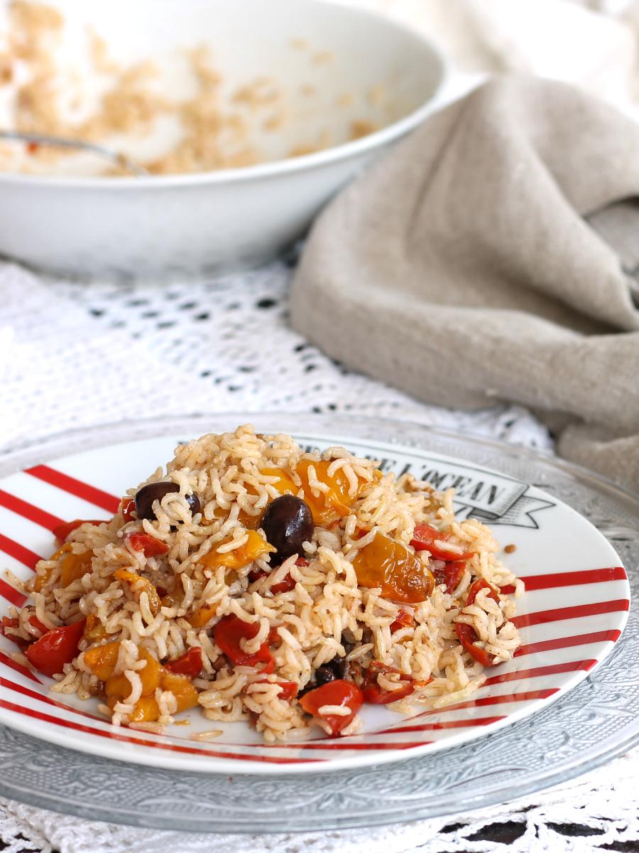 RISO BASMATI CON VERDURE ricetta piatto leggero caldo o freddo
