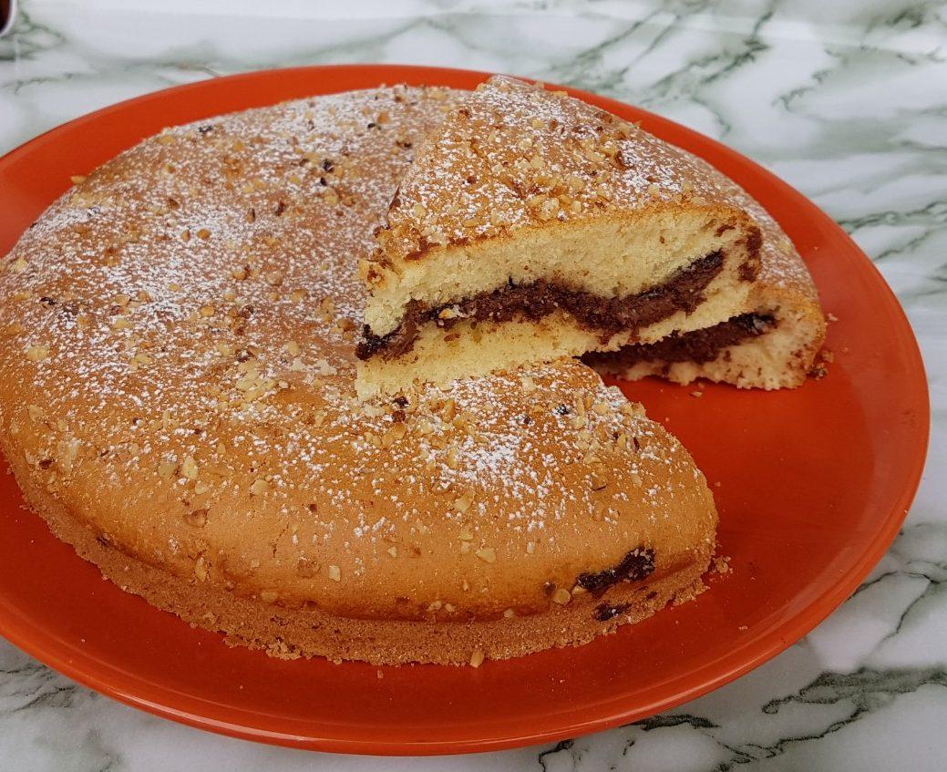 CROSTATA AL CUCCHIAIO GOLOSA ricetta dolce con nutella