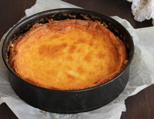 CHEESECAKE COTTA – ricetta base