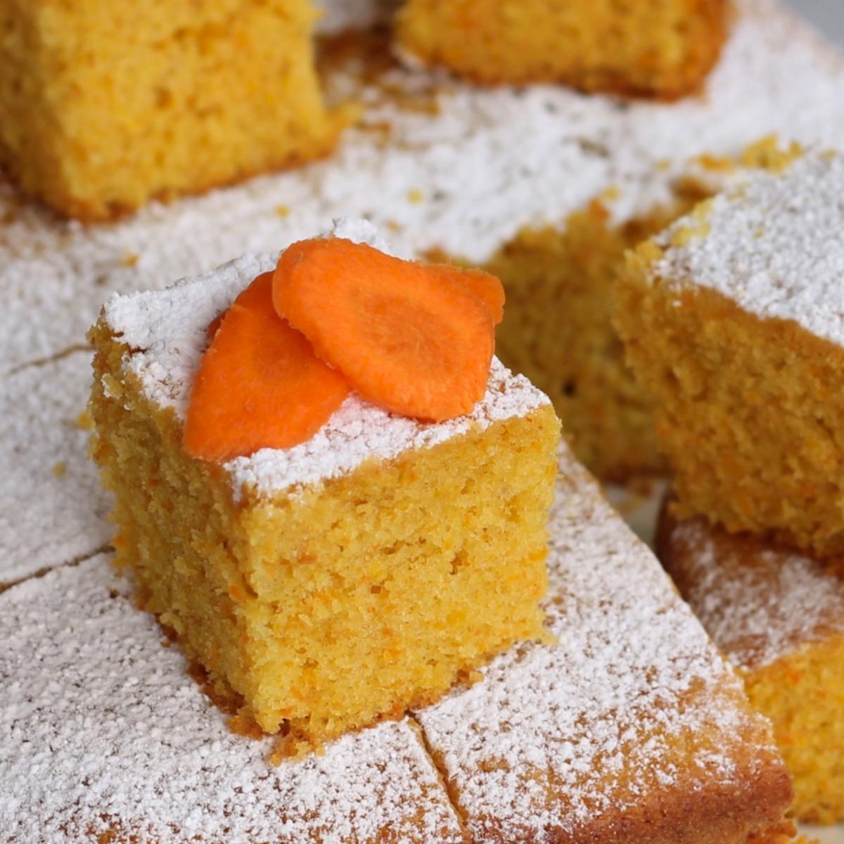 TORTA DI CAROTE SENZA BILANCIA ricetta torta al bicchiere