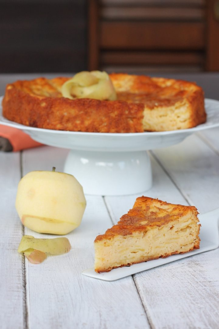 RICETTA TORTA TUTTA MELE dolce senza burro olio e latte