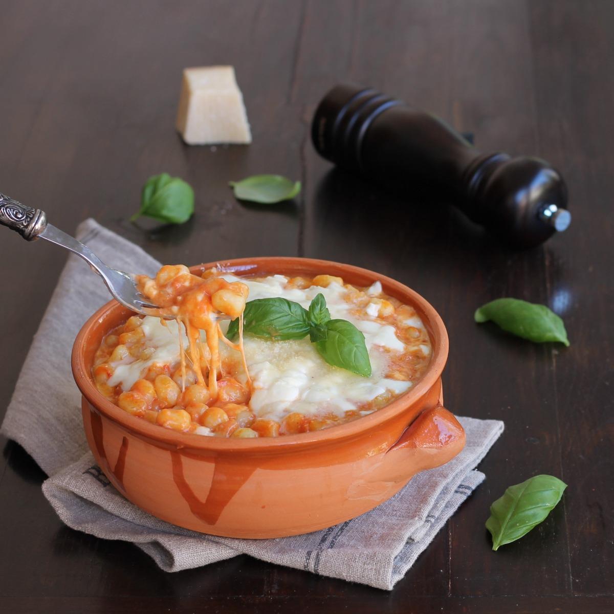 GNOCCHI ALLA SORRENTINA ricetta tipica napoletana primo piatto