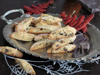CANTUCCINI ARANCIA E CIOCCOLATO ricetta biscotti secchi