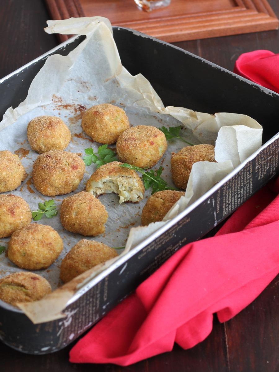 POLPETTE DI CAVOLFIORE ricetta polpette di verdure senza carne