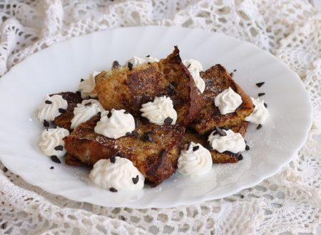 PANDORO FRENCH TOAST AL CAFFE'