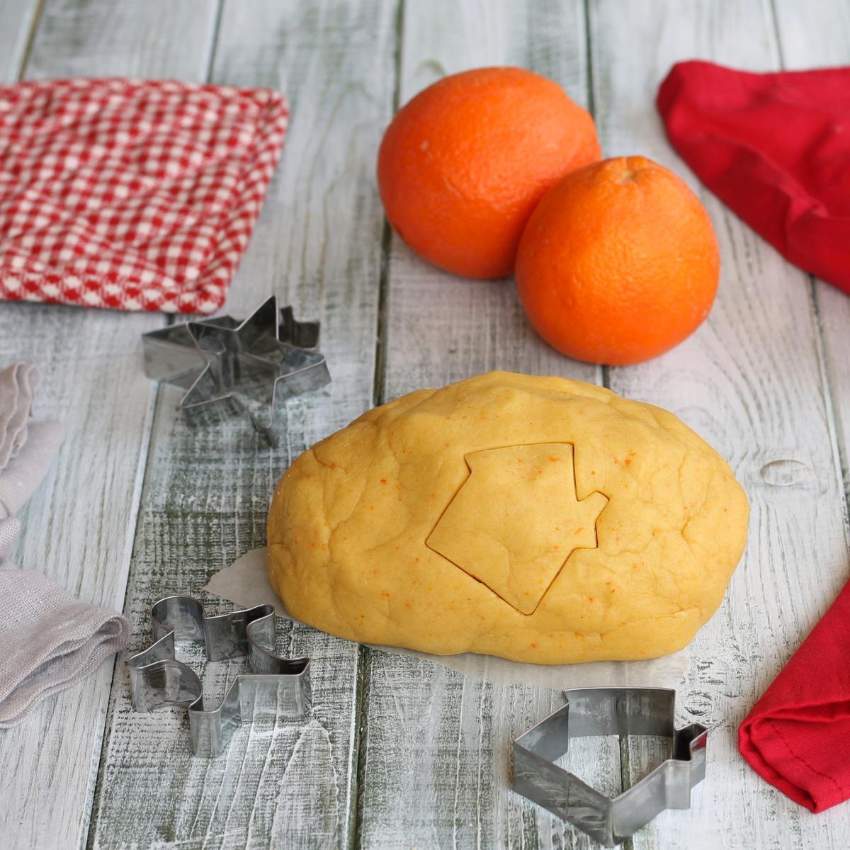 RICETTA PASTA FROLLA ALL ARANCIA pasta frolla per biscotti crostate