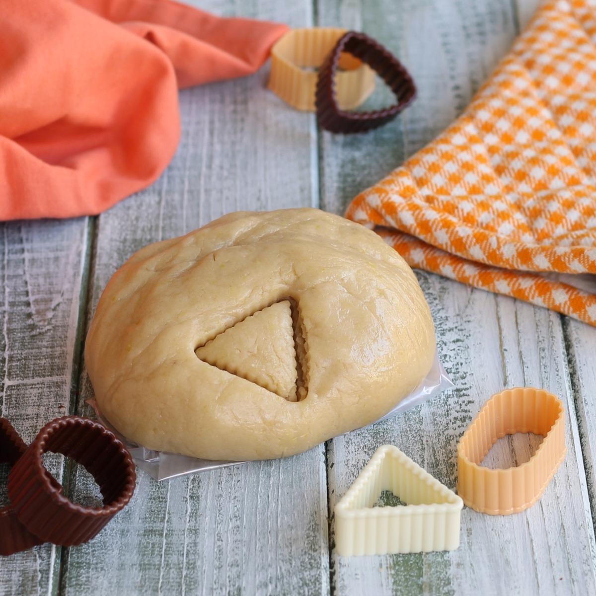 PASTA FROLLA SENZA BURRO E UOVA ricetta per biscotti e crostate