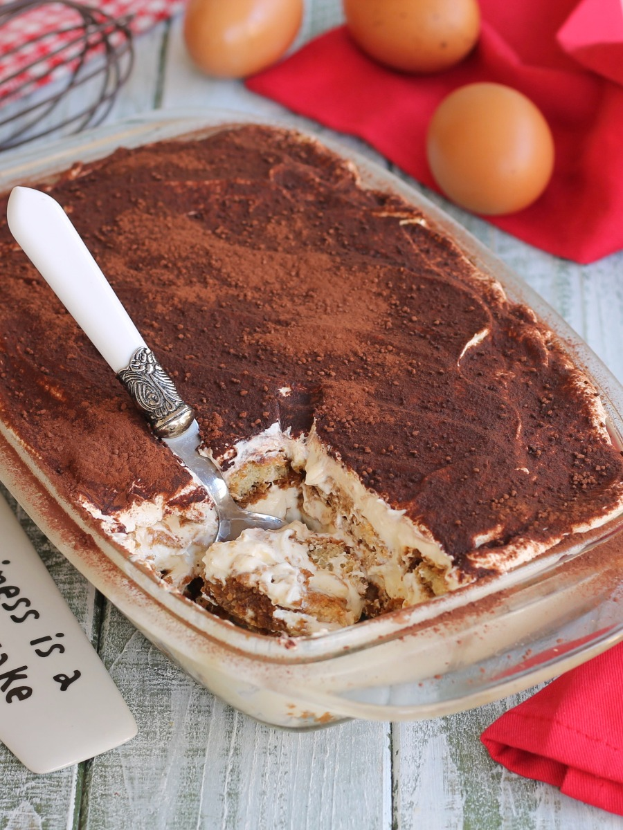 TIRAMISU SENZA UOVA CRUDE ricetta tiramisù con uova pastorizzate