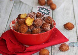 CASTAGNOLE CON RICOTTA ricetta dolce di Carnevale