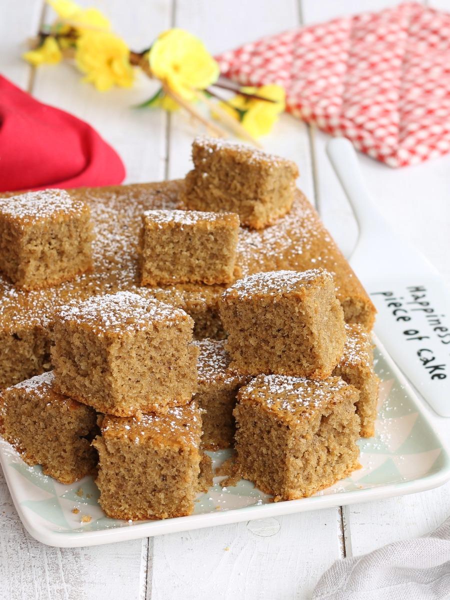 TORTA SOFFICE COCCO E CAFFE' ricetta torta senza burro e latte