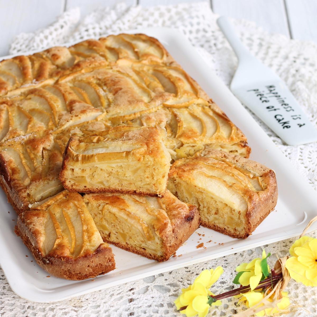 TORTA MELE LIMONE MANDORLE ricetta torta di mele senza latticini