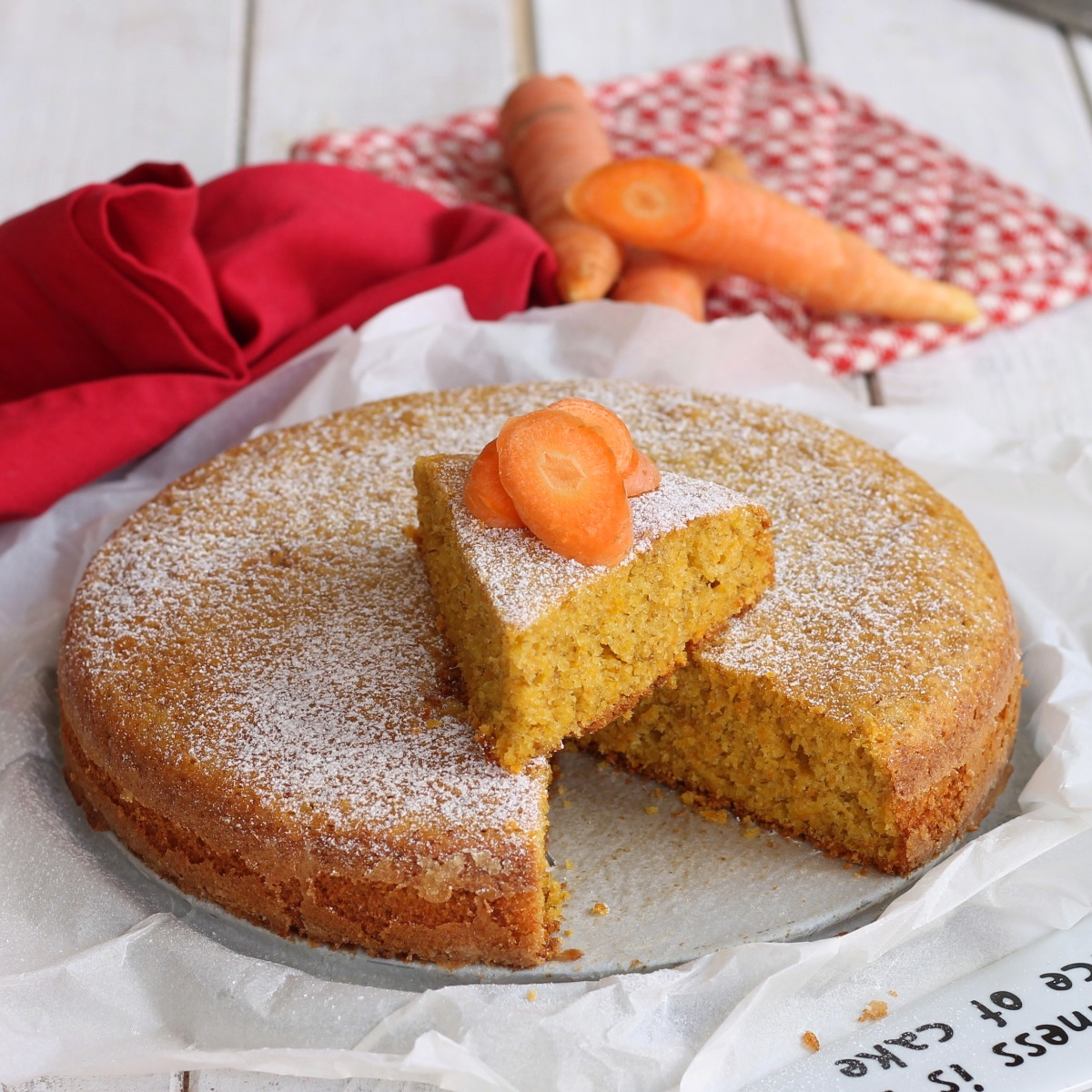TORTA DI CAROTE SENZA UOVA ricetta torta di carote in padella o al forno