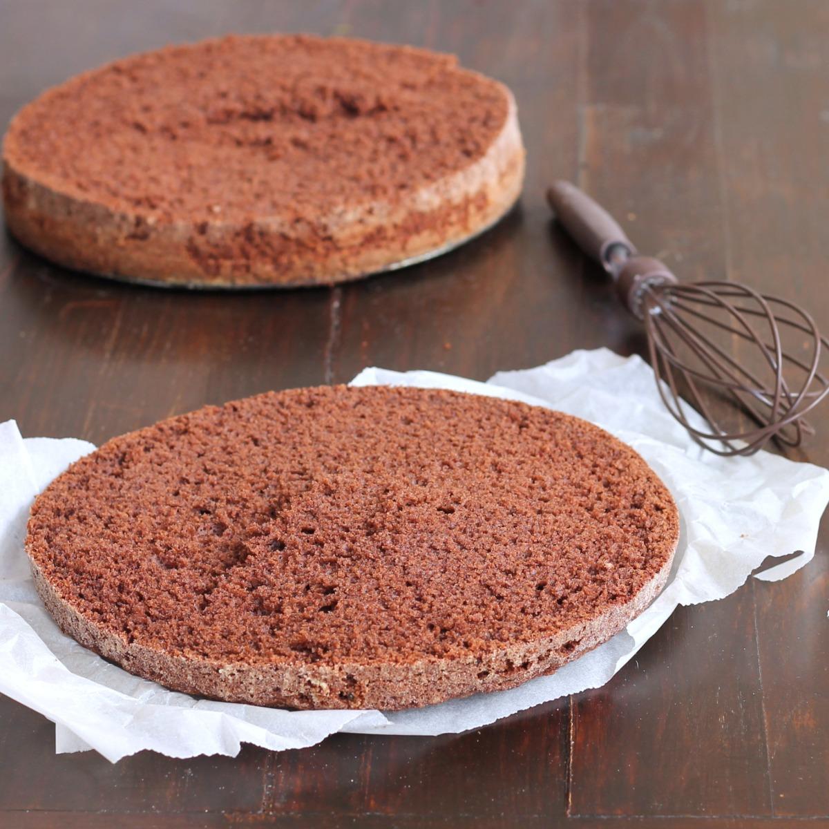 BASE TORTA AL CACAO AL BICCHIERE ricetta torta senza bilancia