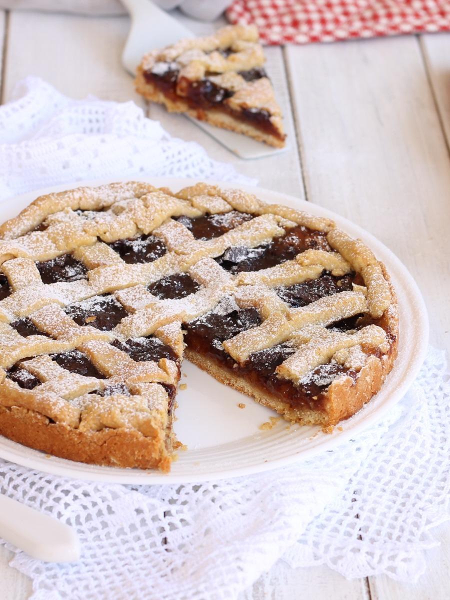 torta amaretti e cioccolato senza burro