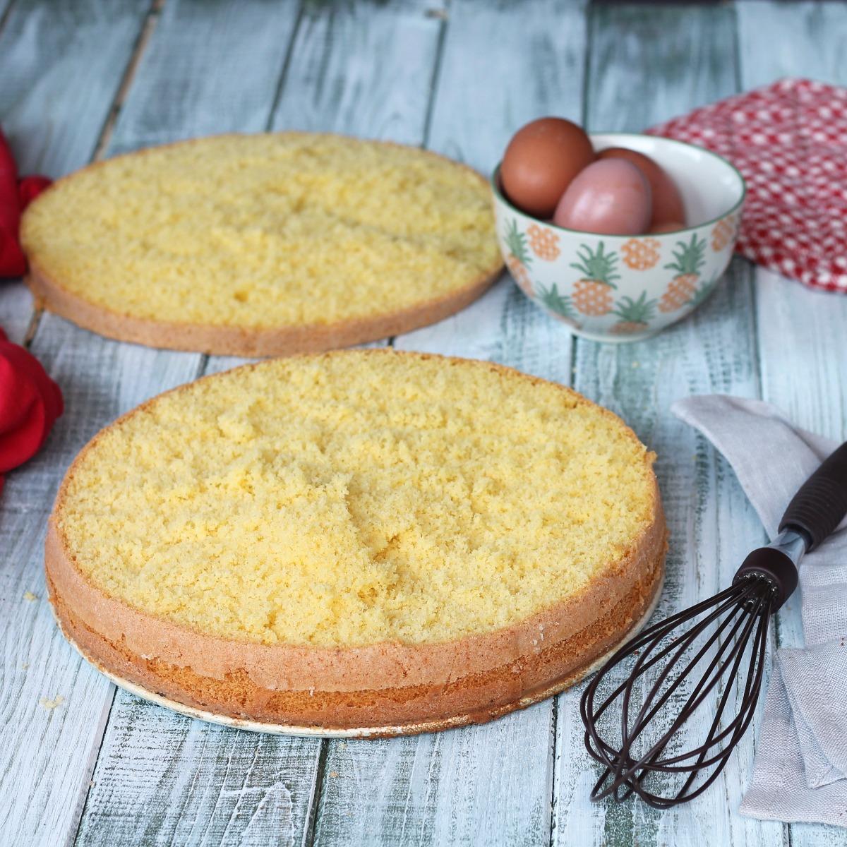 PAN DI SPAGNA CON FECOLA DI PATATE ricetta pan di spagna altissimo