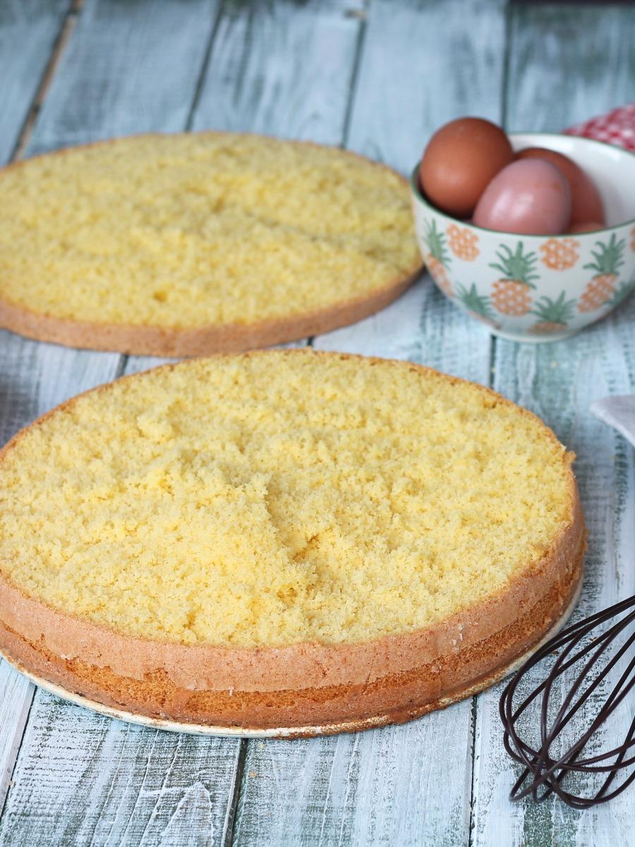 Pan Di Spagna Con Fecola Di Patate