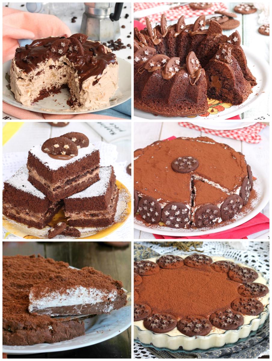 62153fa6a455 RICETTE CON BISCOTTI PAN DI STELLE dolci senza cottura e dolci da forno