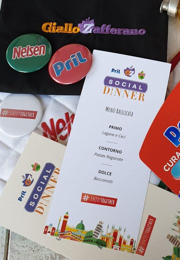 Social Dinner: l'evento dell'anno sta per iniziare!Gioca con Pril Nelsen e GZ