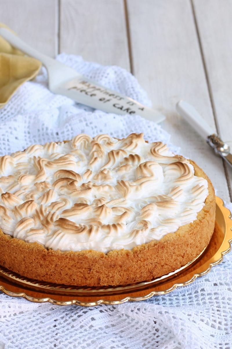 CROSTATA LIMONE E MERINGA | lemon meringue pie | NUOVA ricetta