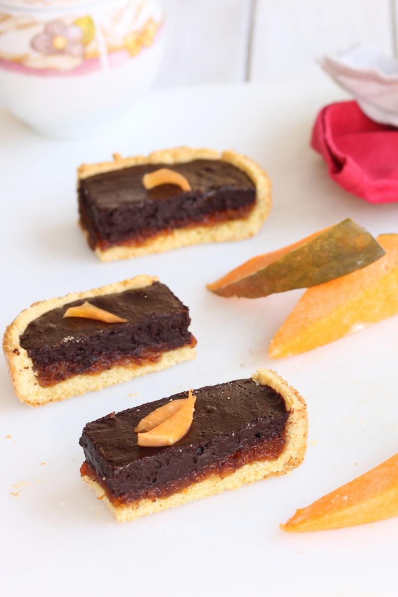 Crostata con Marmellata di Zucca e Cioccolato