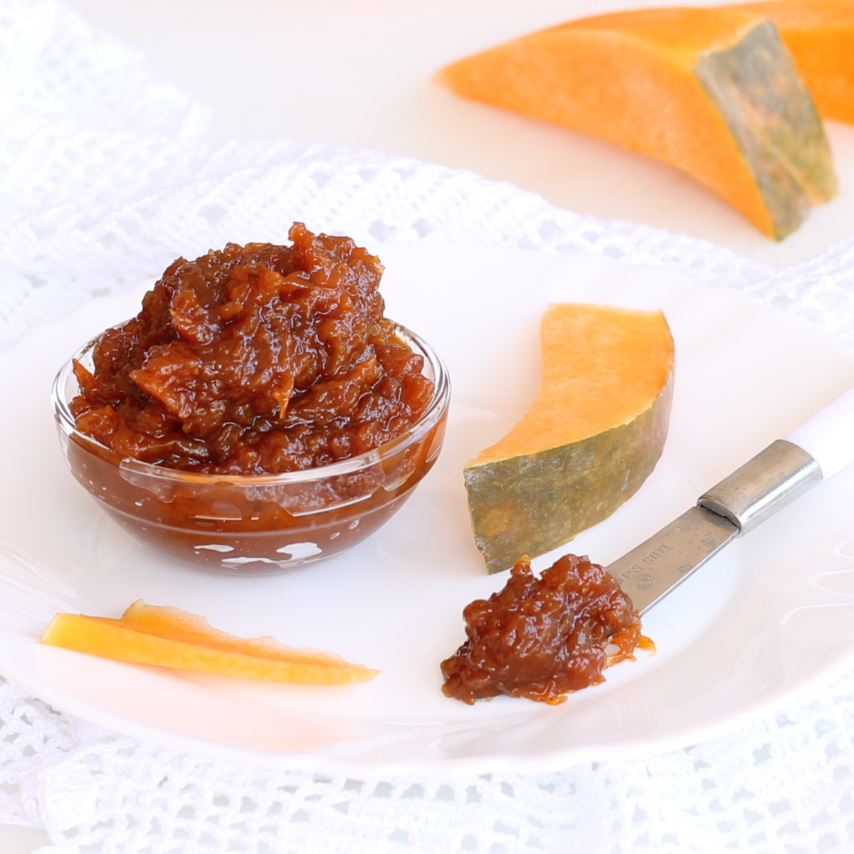 RICETTA MARMELLATA DI ZUCCA facile | per dolci e formaggi stagionati