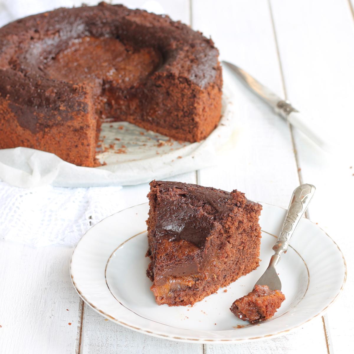 TORTA FONDENTE MARMELLATA E CIOCCOLATO ricetta torta veloce