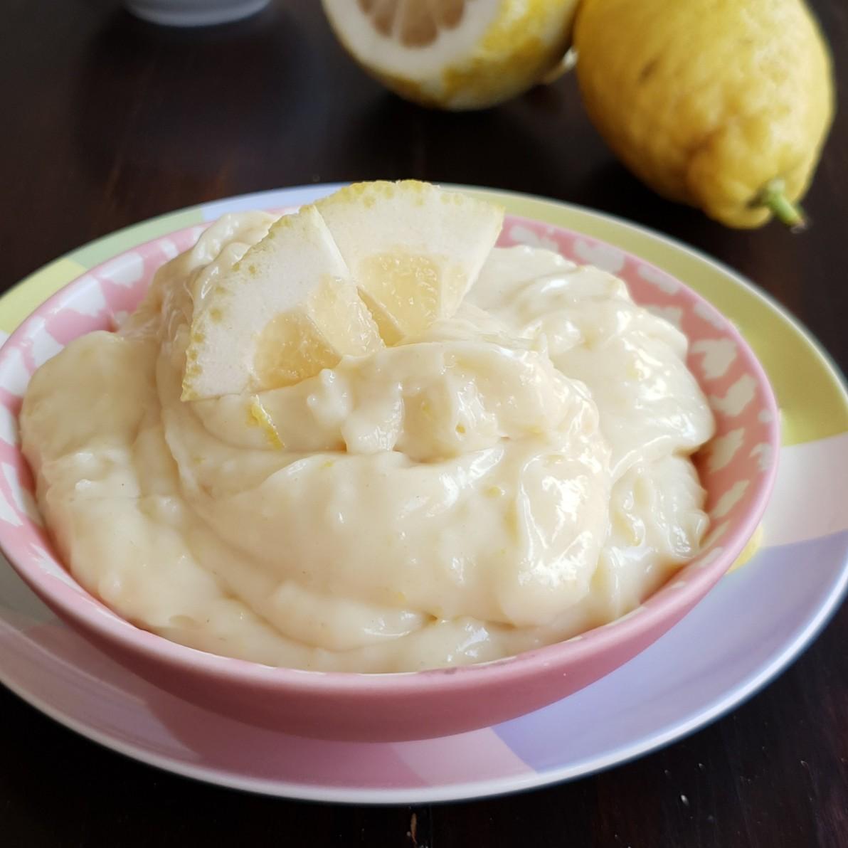 Crema cioccolato bianco e limone | ricetta tradizionale e al microonde