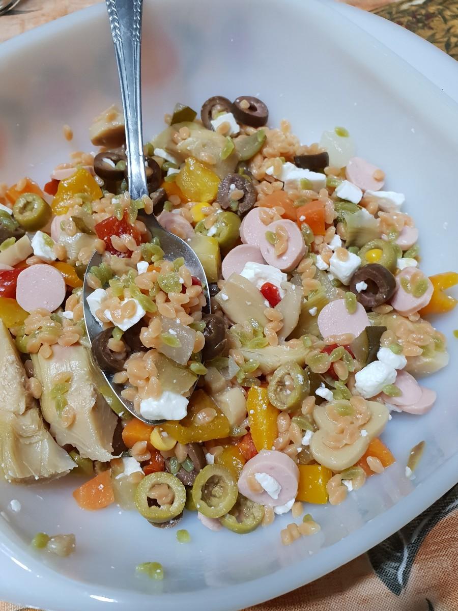Legumotti all'insalata