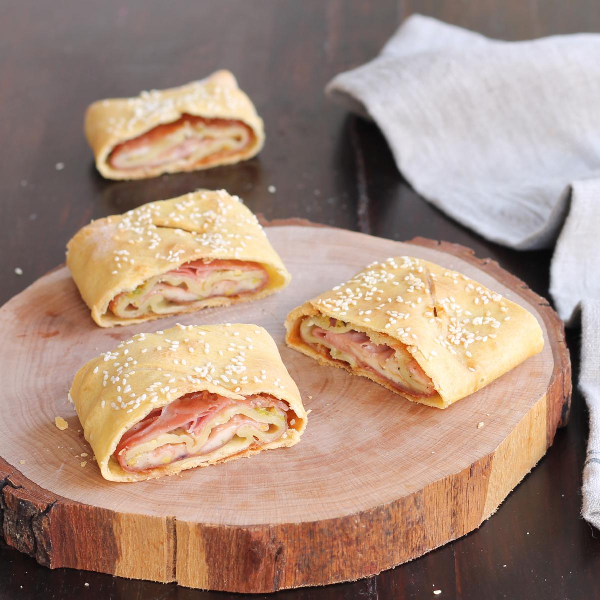 ROTOLINI DI MORTADELLA ricetta rustico veloce mortadella e formaggio