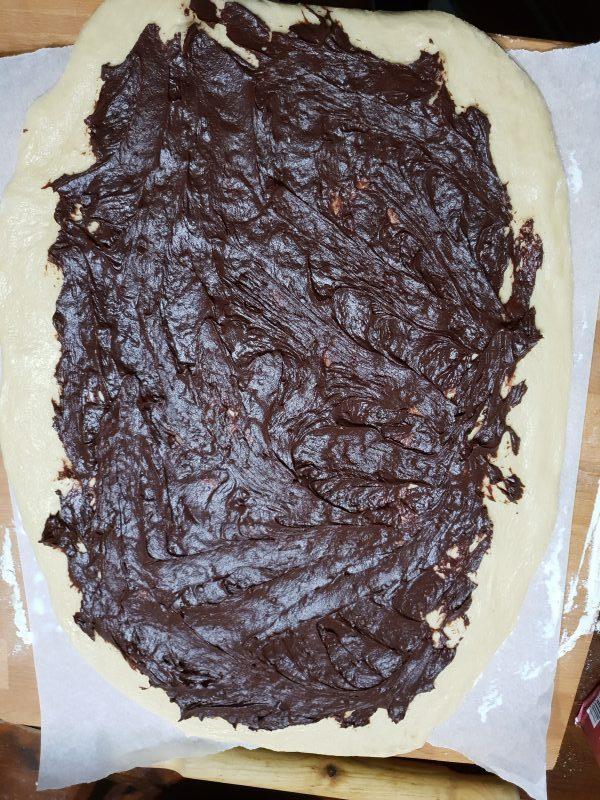 PAN BRIOCHE CON CREMA AL CIOCCOLATO ricetta pan brioche dolce