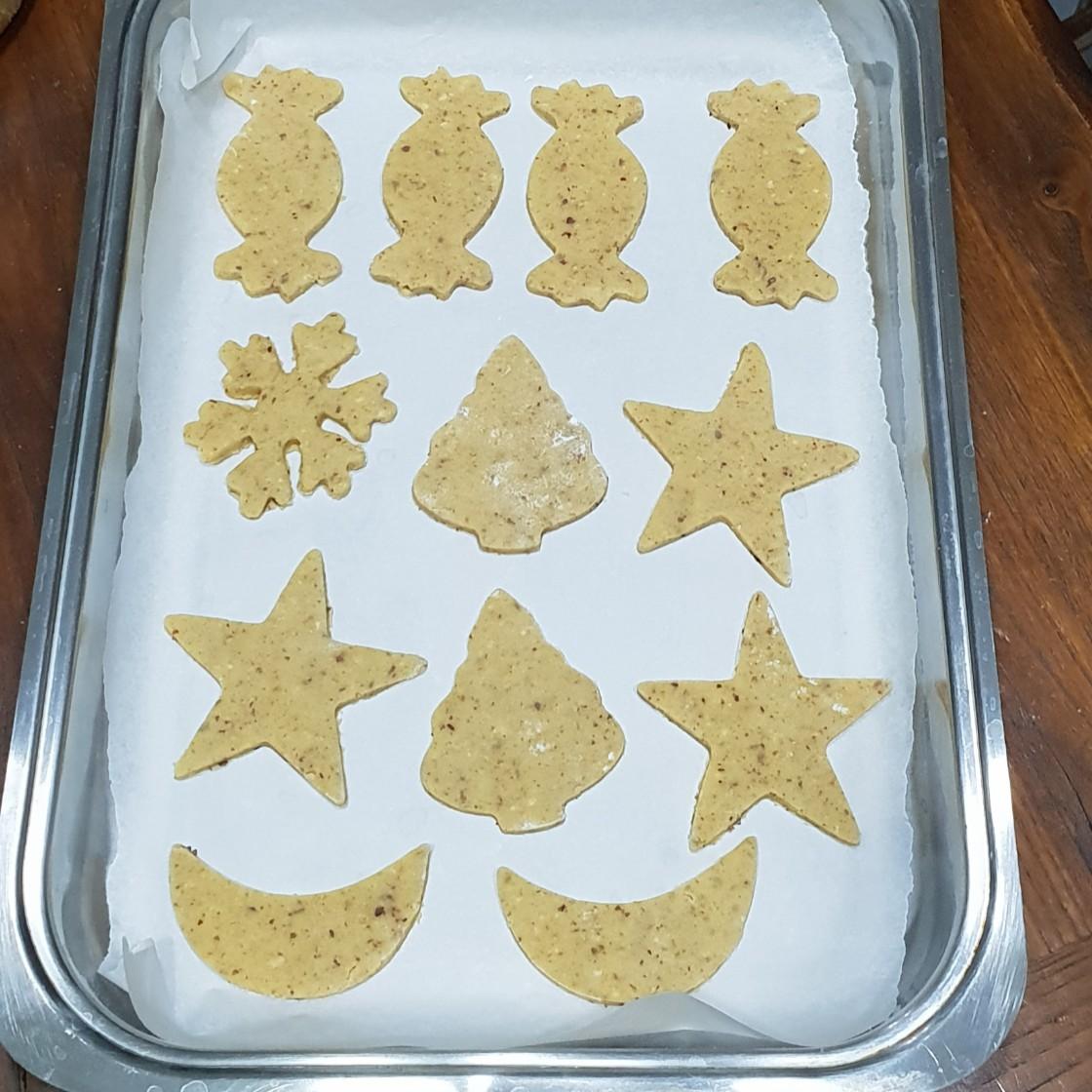 PASTA FROLLA NOCCIOLE E CANNELLA ricetta biscotti sablè
