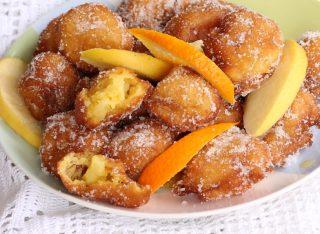 CASTAGNOLE MELARANCIA NEL FRULLATORE ricetta frittelle di mele