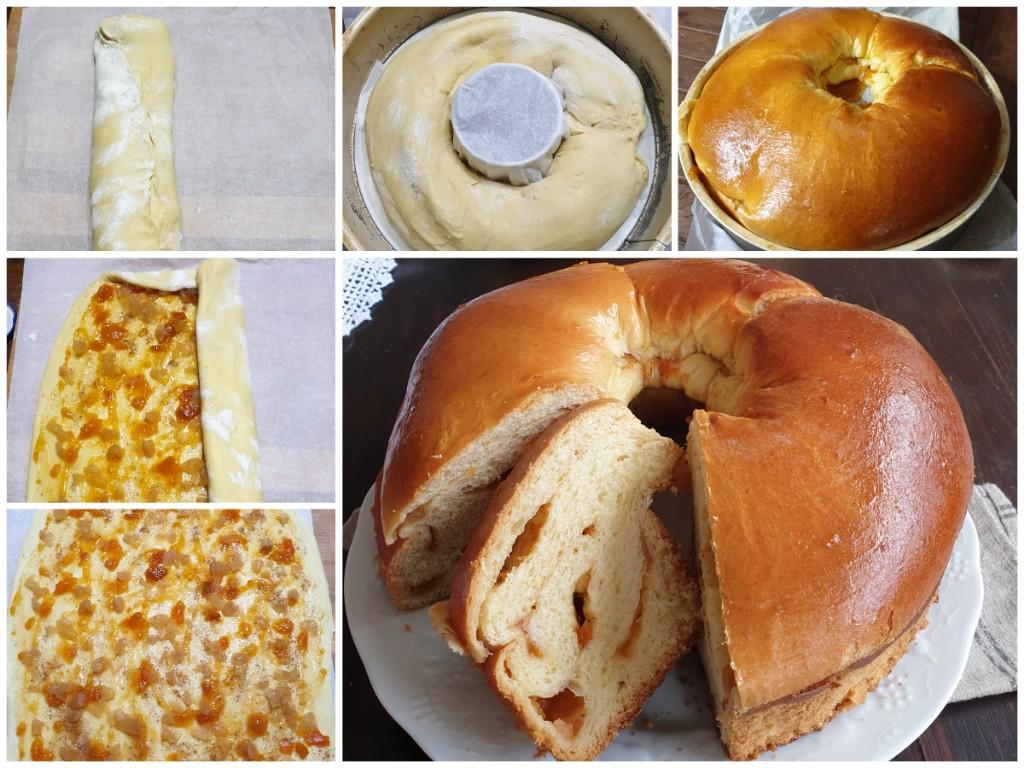 MELA BRIOCHE ALLO YOGURT ricetta pan brioche con yogurt magro