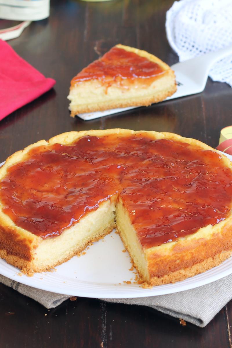 CHEESECAKE DI CARNEVALE ricetta cheesecake con semolino e ricotta
