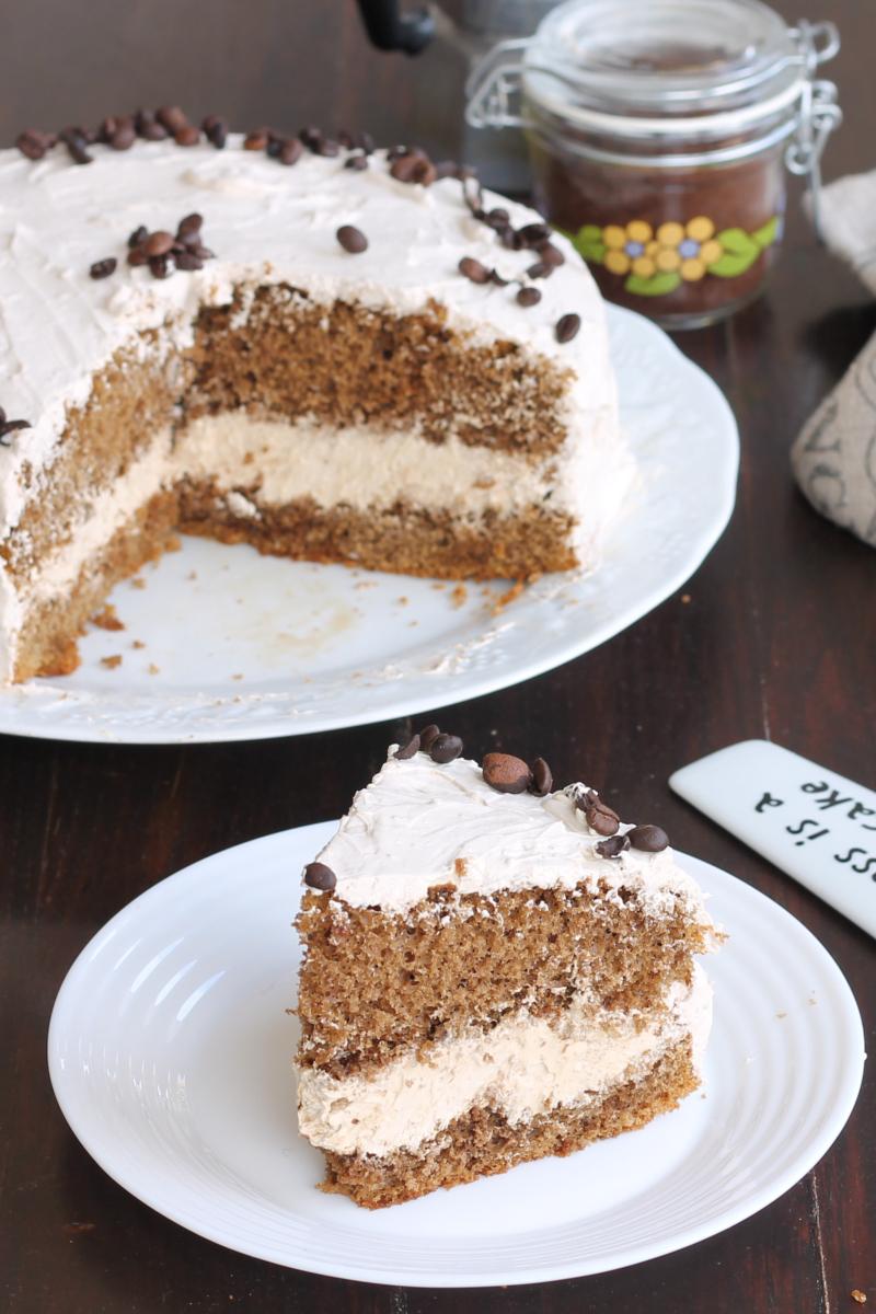 RICETTA TORTA CAPPUCCINO CREMOSA torta con crema mascarpone