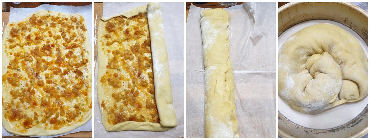 BRIOCHE YOGURT PANNA MELE COTTE ricetta pan brioche dolce